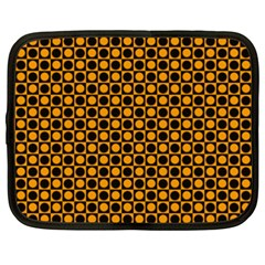 Friendly Retro Pattern F Netbook Case (XXL)  by MoreColorsinLife