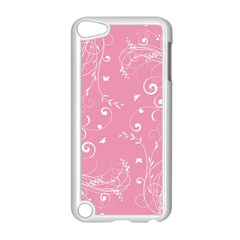 Floral Design Apple Ipod Touch 5 Case (white) by ValentinaDesign