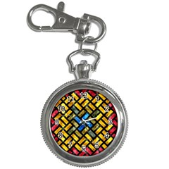 Metal Rectangles            Key Chain Watch by LalyLauraFLM