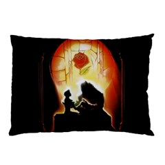Beauty And The Beast Pillow Case (Two Sides)
