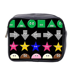 Cute Symbol Mini Toiletries Bag 2-Side by Nexatart