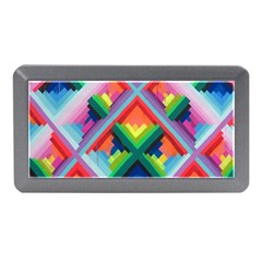 Rainbow Chem Trails Memory Card Reader (mini) by Nexatart