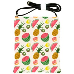 Fruits Pattern Shoulder Sling Bags by Nexatart