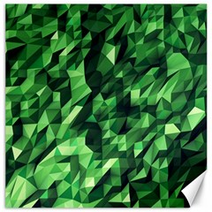 Green Attack Canvas 16  X 16   by Nexatart
