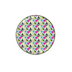 Cool Graffiti Patterns  Hat Clip Ball Marker by Nexatart