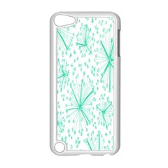 Pattern Floralgreen Apple Ipod Touch 5 Case (white) by Nexatart