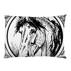 Framed Horse Pillow Case (two Sides)