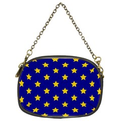 Star Pattern Chain Purses (two Sides)  by Nexatart