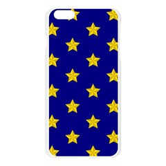 Star Pattern Apple Seamless iPhone 6 Plus/6S Plus Case (Transparent) by Nexatart