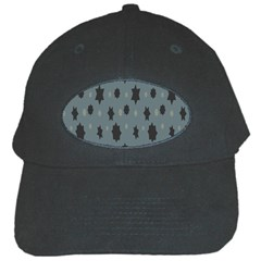 Star Space Black Grey Blue Sky Black Cap by Mariart