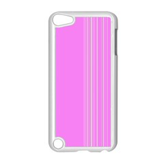 Lines Apple Ipod Touch 5 Case (white) by ValentinaDesign