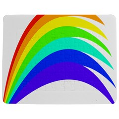 Rainbow Jigsaw Puzzle Photo Stand (rectangular) by Nexatart