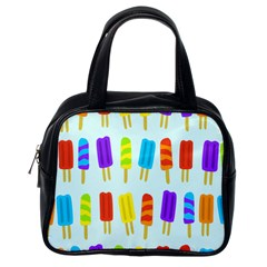 Popsicle Pattern Classic Handbags (one Side) by Nexatart
