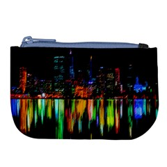 City Panorama Large Coin Purse by Valentinaart