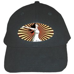 Woman Power Glory Affirmation Black Cap by Nexatart