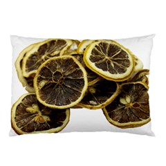 Lemon Dried Fruit Orange Isolated Pillow Case (Two Sides)