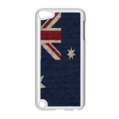 Vintage Australian Flag Apple Ipod Touch 5 Case (white) by ValentinaDesign