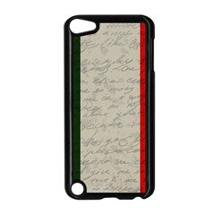 Vintage Flag   Italia Apple Ipod Touch 5 Case (black) by ValentinaDesign