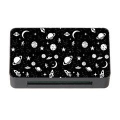 Space Pattern Memory Card Reader With Cf by Valentinaart