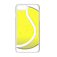 Tennis Ball Ball Sport Fitness Apple iPhone 7 Plus White Seamless Case by Nexatart