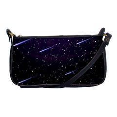 Starry Night Sky Meteor Stock Vectors Clipart Illustrations Shoulder Clutch Bags by Mariart