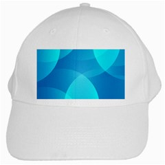 Abstract Blue Wallpaper Wave White Cap by Nexatart
