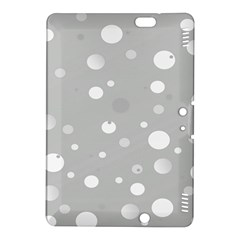 Decorative dots pattern Kindle Fire HDX 8.9  Hardshell Case by ValentinaDesign