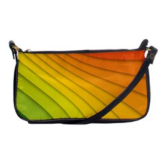 Abstract Pattern Lines Wave Shoulder Clutch Bags by Nexatart
