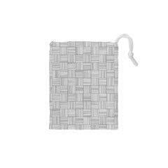 Flooring Household Pattern Drawstring Pouches (XS)  by Nexatart