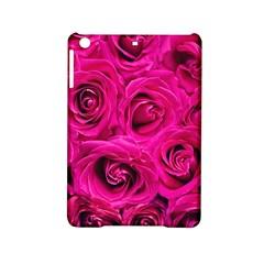 Pink Roses Roses Background Ipad Mini 2 Hardshell Cases