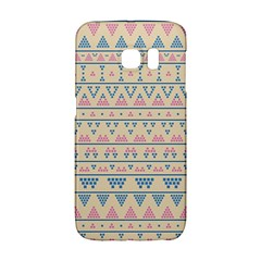blue and pink tribal pattern Galaxy S6 Edge by berwies