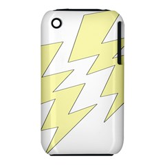 Lightning Yellow iPhone 3S/3GS by Mariart
