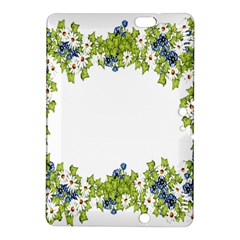 Birthday Card Flowers Daisies Ivy Kindle Fire HDX 8.9  Hardshell Case by Nexatart