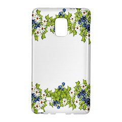 Birthday Card Flowers Daisies Ivy Galaxy Note Edge by Nexatart