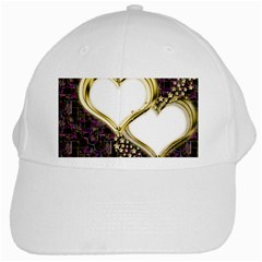 Lover Romantic Couple Apart White Cap by Nexatart