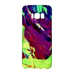 Abstract Painting ,blue,yellow,red,green Samsung Galaxy S8 Hardshell Case  by Costasonlineshop