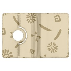 Pattern Culture Seamless American Kindle Fire HDX Flip 360 Case by Nexatart