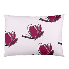 Magnolia Seamless Pattern Flower Pillow Case (two Sides) by Nexatart