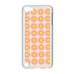 Pattern Flower Background Wallpaper Apple Ipod Touch 5 Case (white)