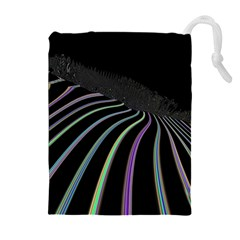 Graphic Design Graphic Design Drawstring Pouches (extra Large) by Nexatart