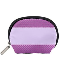 Purple Modern Accessory Pouches (small)  by Nexatart