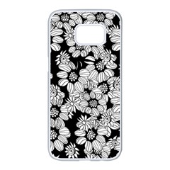Mandala Calming Coloring Page Samsung Galaxy S7 Edge White Seamless Case