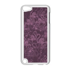 Flamingo Pattern Apple Ipod Touch 5 Case (white) by ValentinaDesign