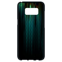 Lines Light Shadow Vertical Aurora Samsung Galaxy S8 Black Seamless Case by Mariart