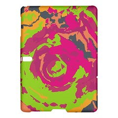 Abstract art Samsung Galaxy Tab S (10.5 ) Hardshell Case  by ValentinaDesign