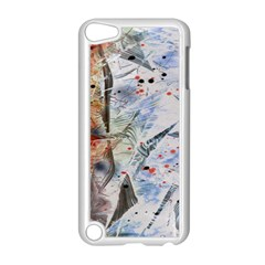 Abstract Design Apple Ipod Touch 5 Case (white) by ValentinaDesign