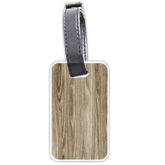 Wooden Structure 3 Luggage Tags (Two Sides)