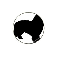 Spanish Water Dog Silhouette Hat Clip Ball Marker (10 pack) by TailWags