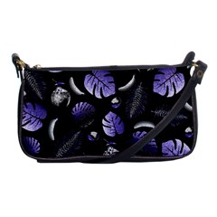 Tropical Pattern Shoulder Clutch Bags
