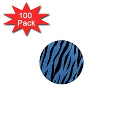 SKN3 BK-MRBL BL-PNCL (R) 1  Mini Magnets (100 pack)
